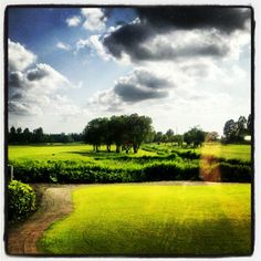 Dutch golf course.