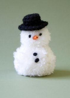 Holiday Snowman -- free pattern