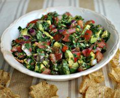 Avocado Cilantro Salad/Salsa