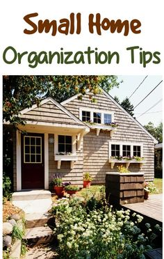 41 Small Home Organization Tips!