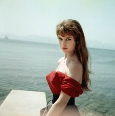 Brigitte Bardot photographed at the Cannes Film Festival in 1953.