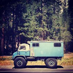 Old Unimog Camper