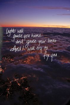"""Fix You"" - Coldplay"