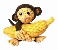 Monkey with a banana!