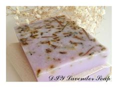 Simple DIY Lavender Soap Recipe - http://www.howtomakebathsalts.com/simple-diy-lavender-soap-recipe/