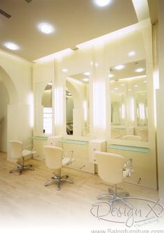 Spa and Salon interior inspiration on Pinterest