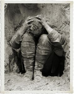 World War I soldier. [What war really looks like.]