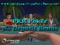 http://www.no-deposit-poker-bonus.net/PKR-poker-bonus-no-deposit.html  This is a guide to the No Deposit PKR . Keep reading to discover how to You can receive up to 100 dollar free poker money without investing a single cent. Here are some details of PKR and the No Deposit PKR Bonus.