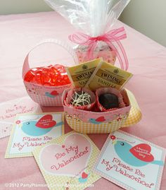 Candy Boxes & Valentines: Free Printable