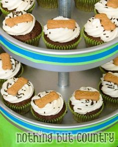 Puppy Party - Puppy Cupcakes