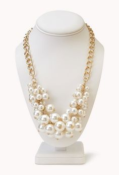 Opulent Faux Pearl Necklace | FOREVER21 - 1000070543