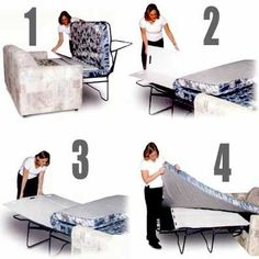 """Sleeper Helper (White) (48"""" x 24"""") by Bower Useful Products, Inc. $54.50. See full description for info. Size: 48"""" x 24"""". Color: White. 48"""" x 24"""" Sleeper Helper. Have you ever been the one who """"gets stuck"""" on the old uncomfortable fold away bed? Well now that old fold away no longer has to be an aching pain in the back with this excellent solution to comfortable sleep. The Sleeper Helper is simply a compact, lightweight and durable Polyethelene Plastic mat that fits in bet..."""