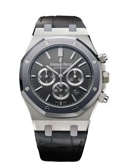 Audemars Piguet Leo Messi Chronograph Watch (Stainless Steel with Tantalum bezel)
