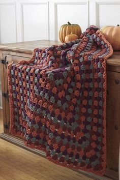 Harvest Home Rectangle Granny Afghan « The Yarn Box