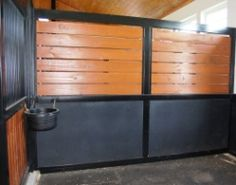 How to pick a design for your horse stall partitions.