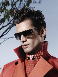 Salvatore Ferragamo Taps Sean O'Pry for its Spring/Summer 2013 Eyewear Campaign