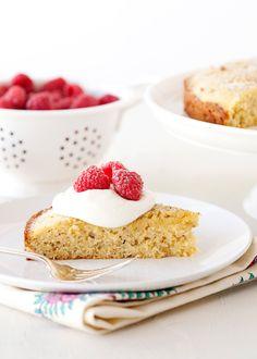 honey pistachio cake! also great for breakfast!