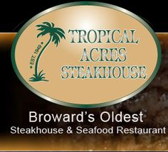 Famous Fort Lauderdale ,FLSteakhouse - Check Out Menu