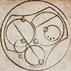 """I love you."" Written in Circular Gallifreyan."