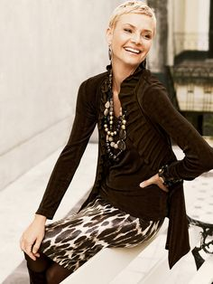 Travelers™ in brilliant new textures and prints #chicos