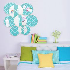 DIY Fabric Wall Art - give your home a refresh with unique wall décor made from fabric and embroidery hoops.