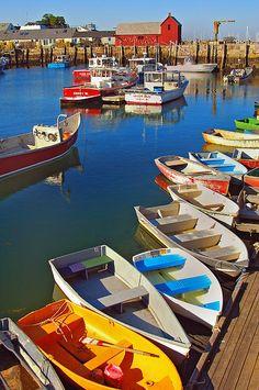 Rockport Harbor, Massachusetts