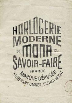 Montres MONA by BMD Design , via Behance