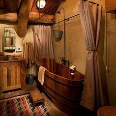 Cowboy bathroom motif