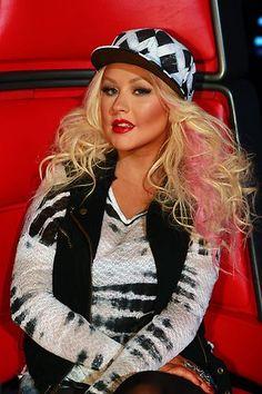 Coach Christina Aguilera! #TheVoice