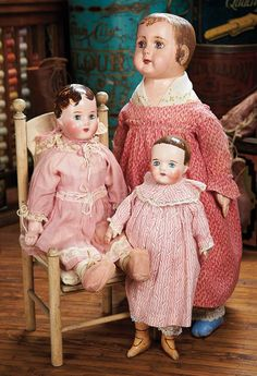"""View Catalog Item - Theriault's Antique Doll Auctions Lot: 216. American Cloth """"Alabama Baby"""" by Ella Smith with Toddler Body"""