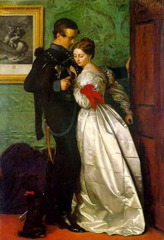 John Everett Millais - The Black Brunswicker