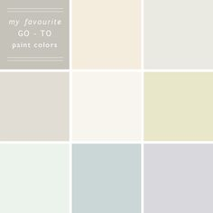 Favourite Neutral Paints, 10 faves by @Emily Schoenfeld Schoenfeld Schoenfeld Henderson