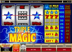 Basic three-reel slots are still the most common type of slot machine found at modern casinos, although multi-payline video slots are also very popular amongst players.  Picture Courtesy: Vegas Slot Casino
