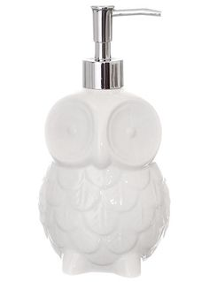 It's Wise to Wash Owl Soap Dispenser at PLASTICLAND