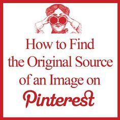 How to find the original image source on pinterest livinglocurto pinterest video, pinterest market, pinterest 101