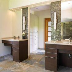 Jack jill bathrooms on pinterest traditional bathroom for Jack n jill bathroom designs