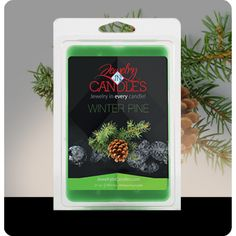 Capture the magic of Christmas all season long with this delightful pine aroma. Subtle wood tones support classic spruce notes for a fragrance that is smooth yet strong. Winter Pine Wax Melts Infused with natural essential oils, including Patchouli, Cedarwood, Fir Needle and Spearmint. ​Jumbo 5.5oz package of 6 scented wax tarts