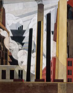 (1920) End of the Parade Coatesville, Pa. (Charles Demuth)