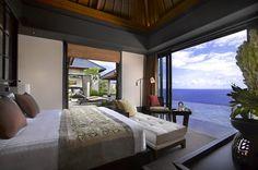 Room at the Banyan Tree Ungasan Resort -- Bali, Indonesia