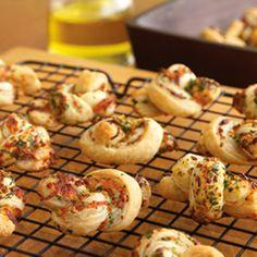 Pepperidge Farm® Puff Pastry - Recipe Detail - Garlic Knots