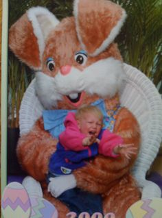 number 2, happi easter, funny bunnies, kid afraid, kids