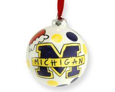 University of Michigan ornament
