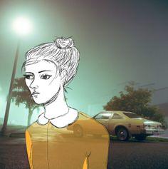 sadness illustration