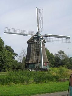 One Of The Few Working Windmills