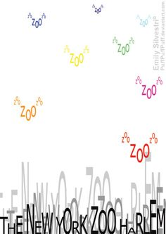 The New York Zoo Harlem manifesti #graphicdesign #design #graphic #zoo #NY #poster #type #words ny poster, york zoo, manifesti graphicdesign, design graphic, graphic zoo, zoo harlem, graphicdesign design, poster type