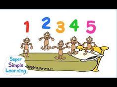 Subtraction - Five Little Monkeys!
