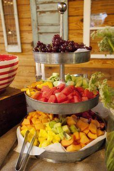 idea, food, fruit platters, floral designs, fruit displays, fruit bar, fruit stand, parti, fruit trays