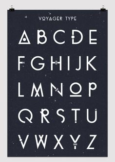 graphic, voyag, letter, alphabet, fonts, typography, type, design, typographi