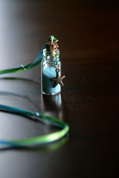 Fairy Dust....never leave home without it  http://www.etsy.com/listing/74514774/fairy-dust-necklace-mermaid-bubbles