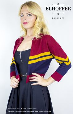 Channel your inner Captain Marvel with this lovely new line of superhero cardigans